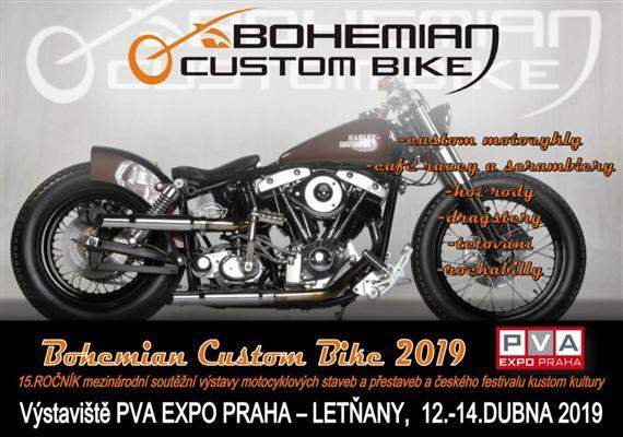 15 ročník výstavy přestaveb Bohemian Custom Bike