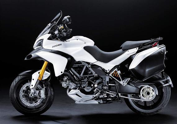 Ducati Multistrada 1200 je plná elektroniky zMotoGP