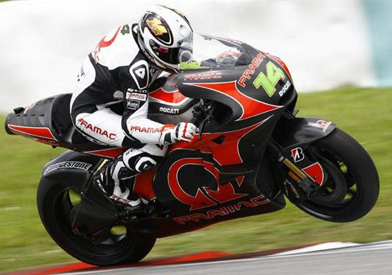 Randy de Puniet chválí Ducati