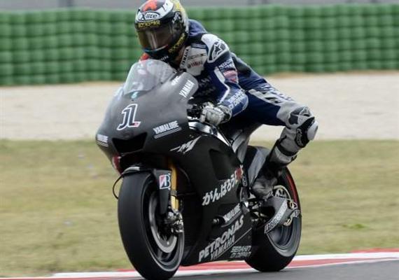 Yamaha testovala vMisanu