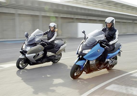 Maxiskútry od BMW- nejsilnější ve třídě