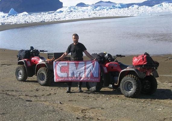 Antarktida amotorkáři aneb Nic není nemožné!