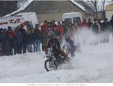 Nejbrutálnější zimní zážitek aneb Motoskijöring na vlastní kůži!