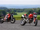 Ducati Monster 1100 vs. Honda CB1000R