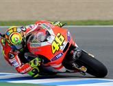 Rossi oletošní Ducati