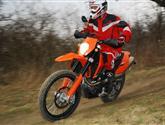 Konečně jednou motorka pro mužský! -KTM 690 Enduro