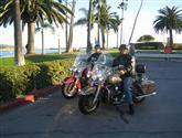 Kalifornií na Harleyi