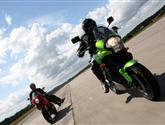 Mírně netradiční srovnání -Kawasaki Versys vs. Ducati Multistrada 1100