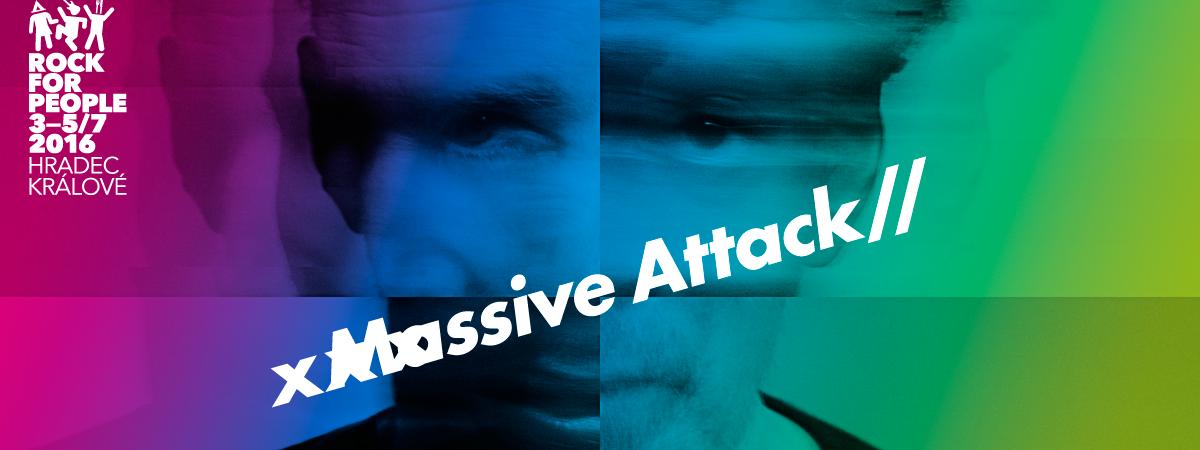 Rock for People má dalšího headlinera! Massive Attack!