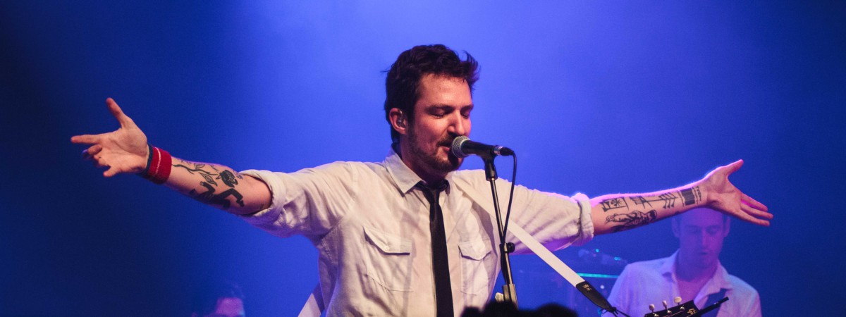 Frank Turner and The Sleeping Souls, Praha, Lucerna Music Bar, 14.4.2016