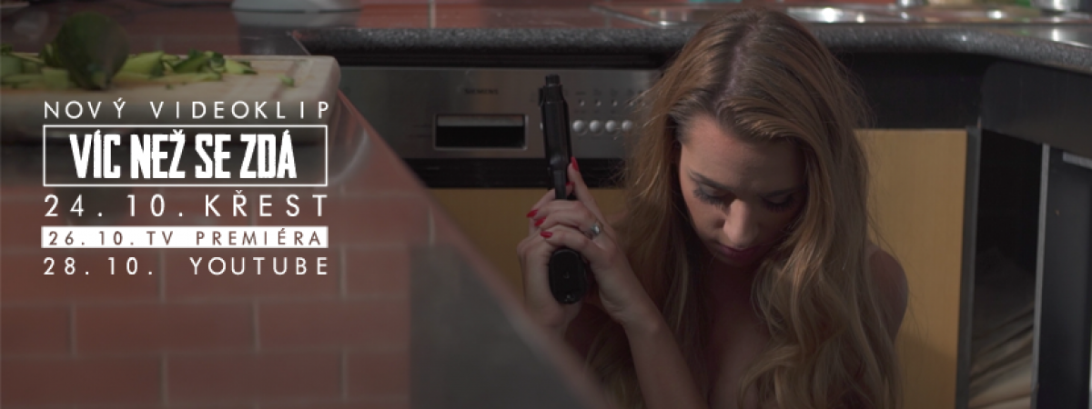 Jihočeská kapela Hand Grenade vydává v exkluzivní premiéře na Rock and Pop svůj nový videoklip na píseň Víc než se zdá.