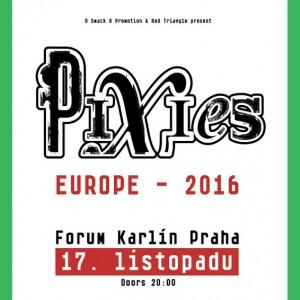 Pixies zavítají do Prahy