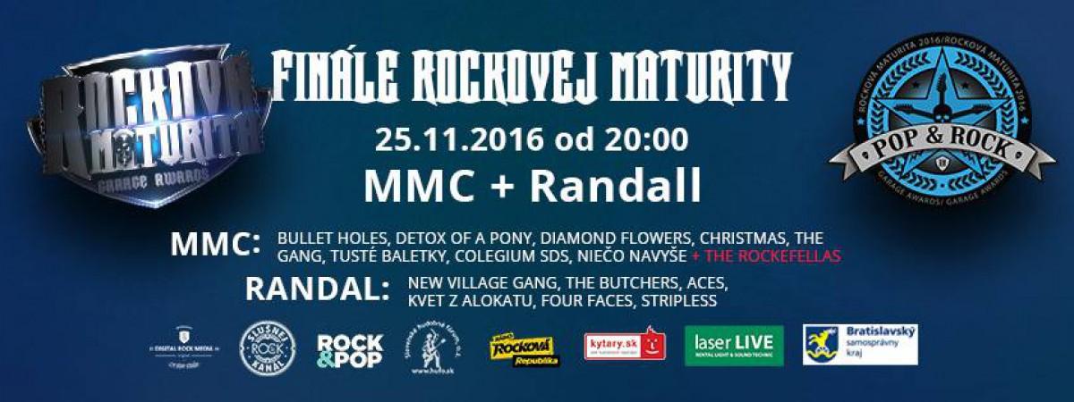 Slovenská hudba nevymiera, príď vybrať víťazov Rockovej Maturity 2016