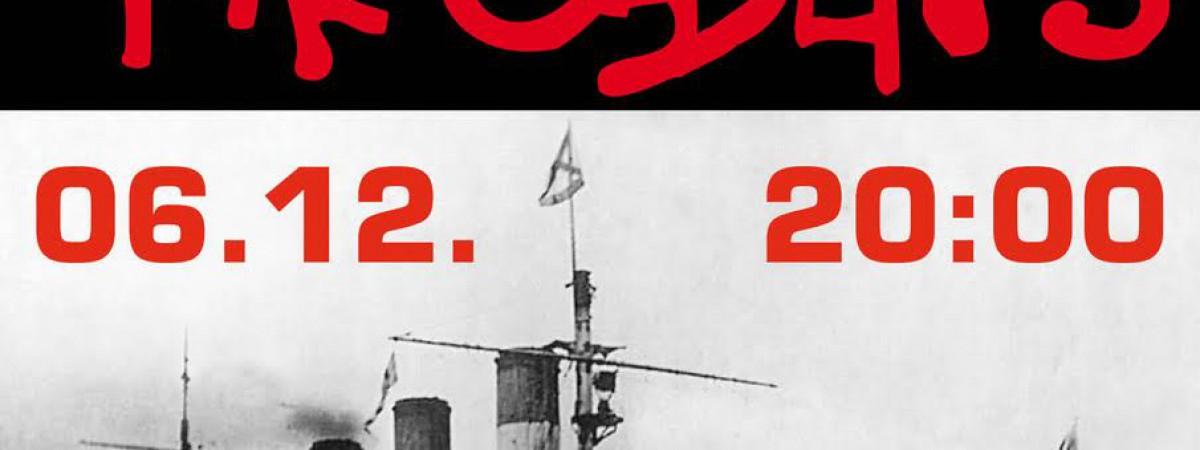 Skupina Precedens zve na koncert 6.12. – Loď Cargo Gallery