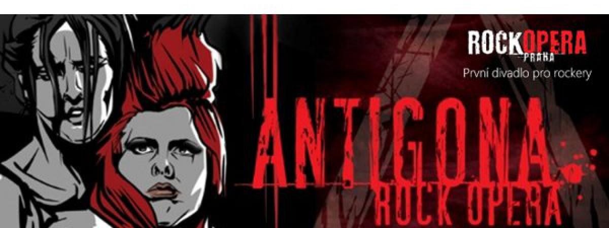 Soutěž o 2 vstupenky na rockovou operu Antigona v RockOpeře Praha