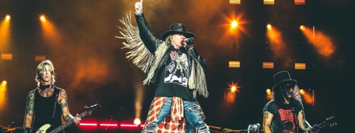 Guns N' Roses se vracejí do Prahy