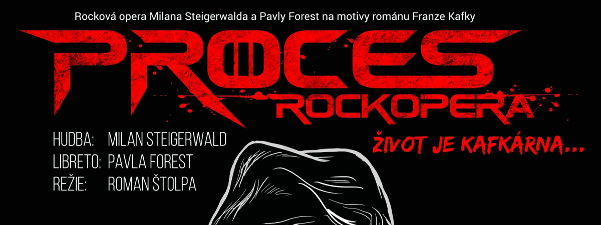 RockOpera Praha už zítra uvede premiéru Procesu inspirovaného románem Franze Kafky