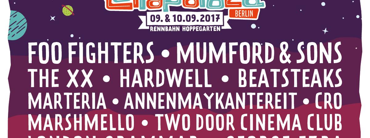 Berlínská Lollapalooza zveřejňuje letošní line-up!