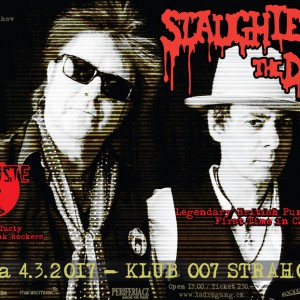 Na Strahov dorazí punkoví veteráni Slaughter And The Dogs