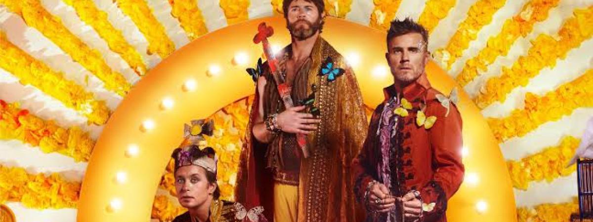 """Take That představují singlovou ochutnávku """"Giants"""" z nového alba Wonderland. Vychází 24. března."""