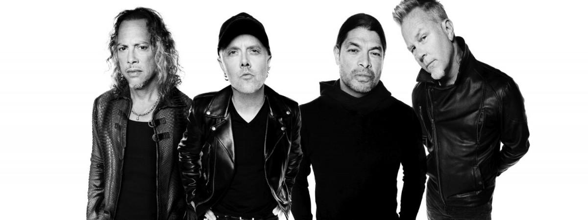 Metallica vystoupí 2. 4. 2018 v pražské O2 areně