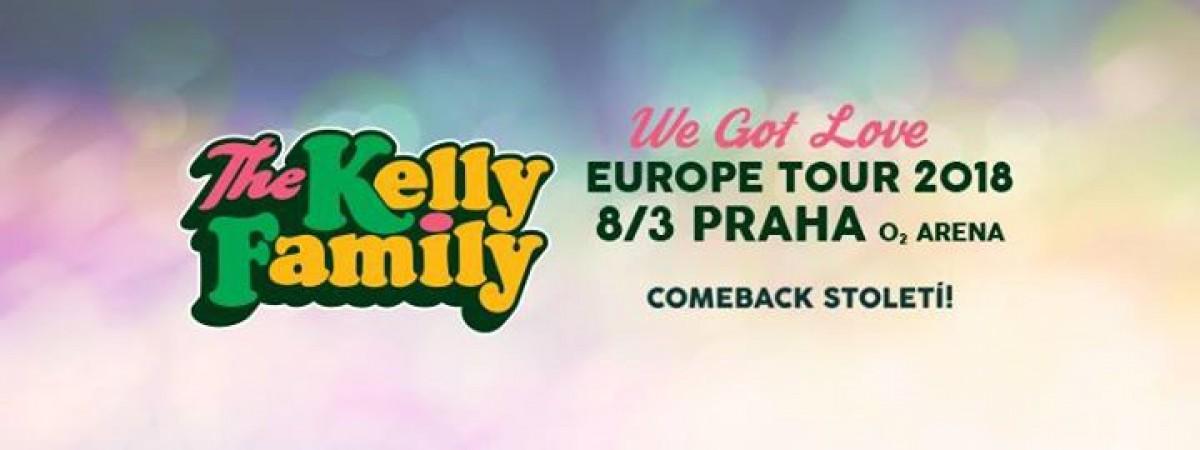 V rámci comebacku Kelly Family zavítají také do České republiky