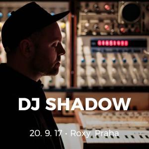 DJ Shadow na podzim vystoupí v Praze