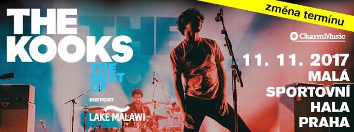Koncert The Kooks se přesouvá na listopad
