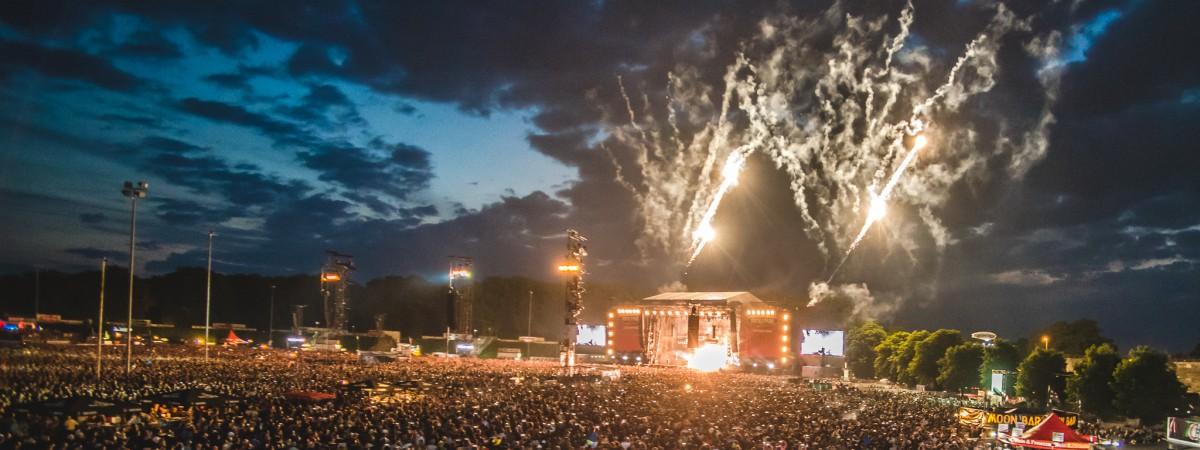 Rock Im Park, Zeppelinfeld, Norimberk, 2.-4.6.2017