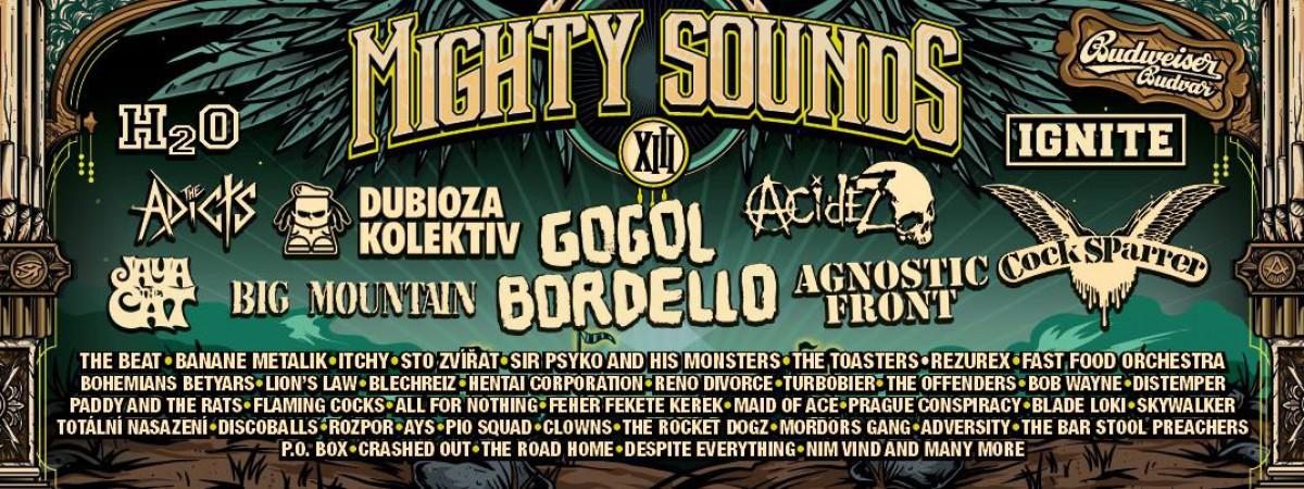 Soutěž o vstupenky na Mighty Sounds