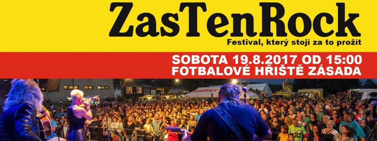 Soutěž o vstupenky na 6. ročník festivalu Zas Ten Rock