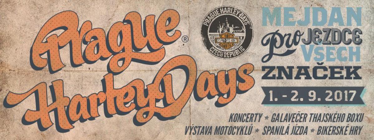 Soutěž o vstupenky na Prague Harley Days