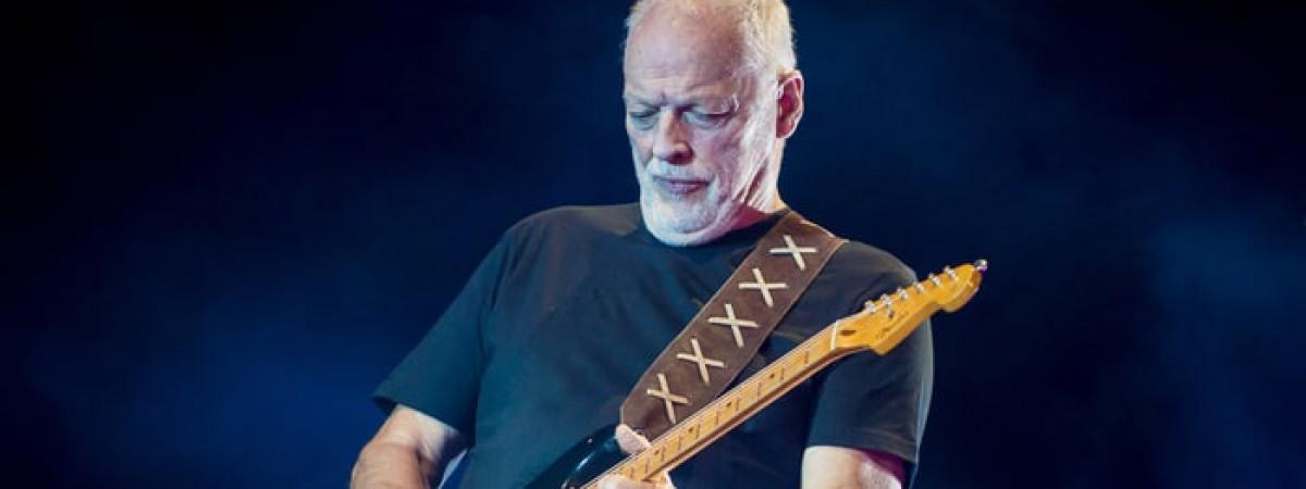 Kytarový mág David Gilmour oživí Pompeje hity Pink Floyd