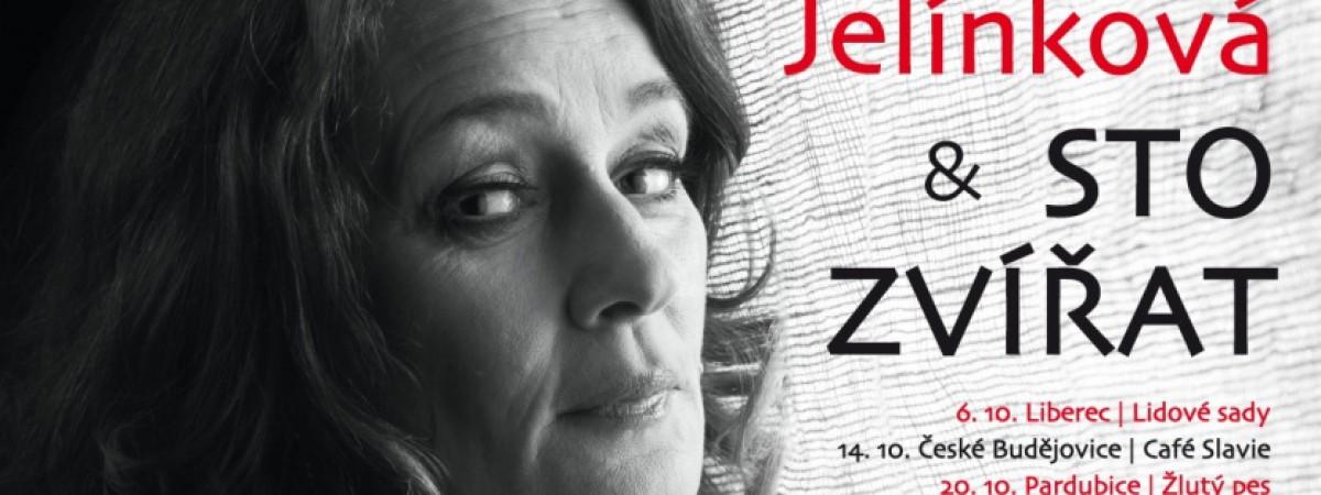Turné Dáma s čápem Jany Jelínkové a skupiny Sto zvířat startuje již v říjnu