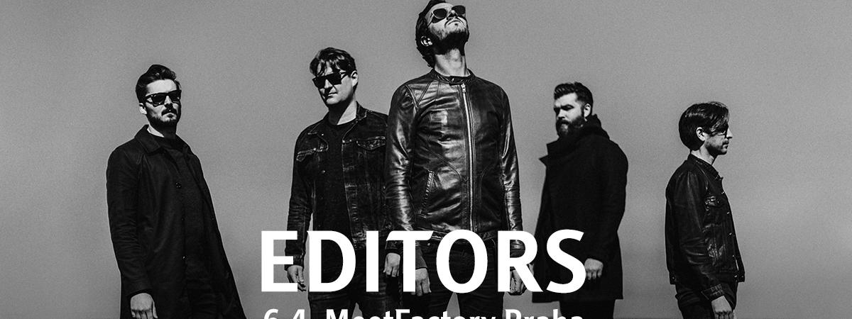 Editors v Meetfactory představí nové album