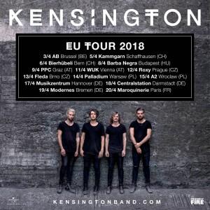 Kensington se vracejí do Česka a to hned se dvěma koncerty