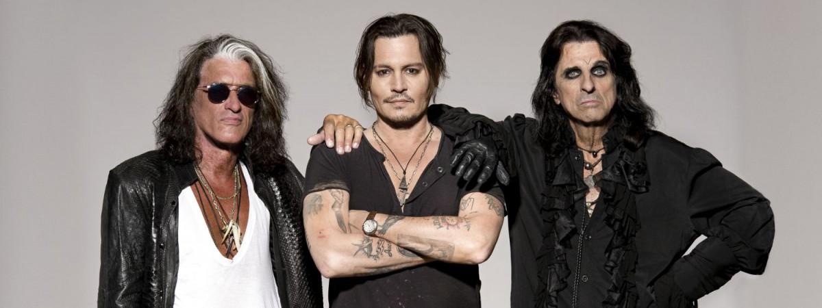 Ozzy Osbourne přijede do Prahy s Hollywood Vampires (Johnny Depp, Alice Cooper, Joe Perry)