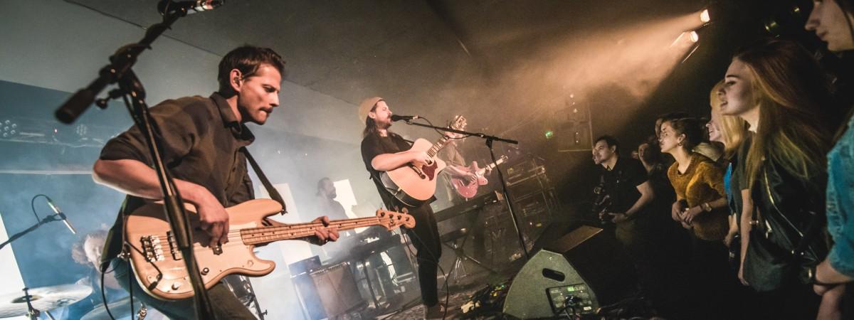 Mighty Oaks, Praha, Rock Café, 12.12.2017