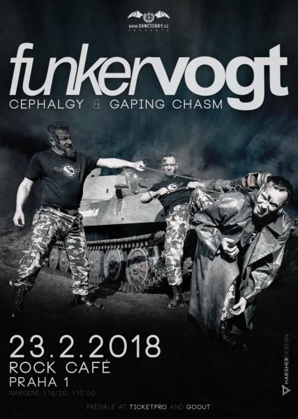 Funker Vogt - plakát