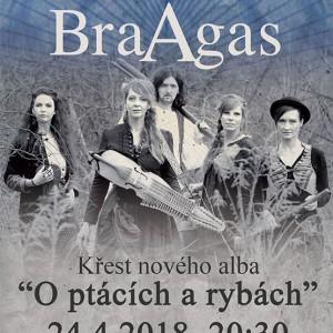 Nové album pokřtí kapela BraAgas