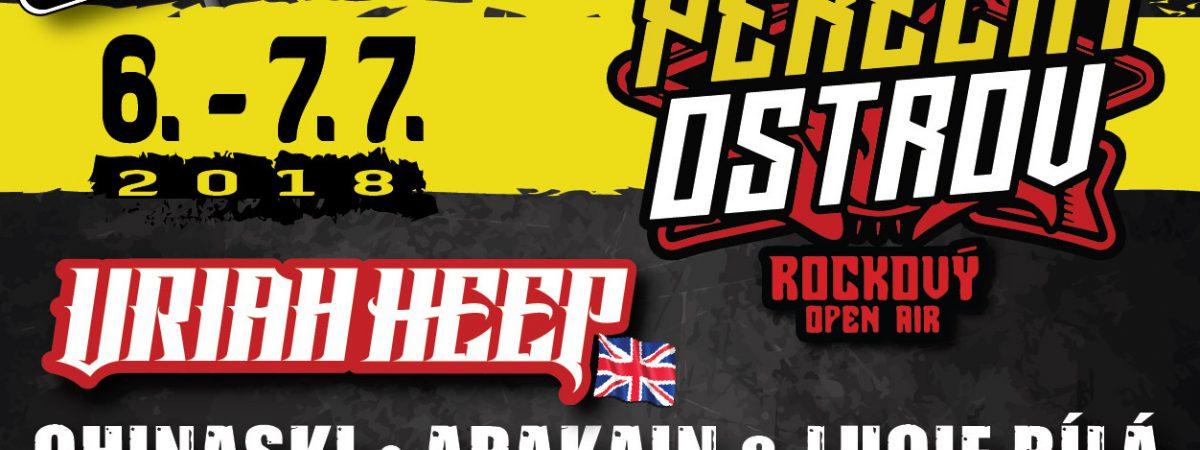 Pekelný ostrov nabídne první červencový víkend Uriah Heep nebo Harlej se symfonickým orchestrem