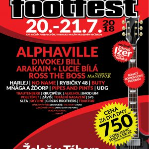 Footfest přivítá legendární Alphaville a nachystal i seznamovací akci