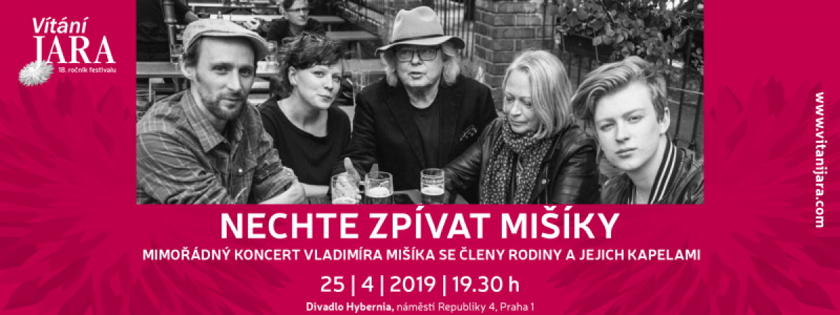 Jedinečné koncertní setkání Mišíků v Divadle Hybernia již ve čtvrtek