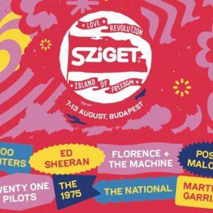 Festival Sziget odhaluje denní časový harmonogram