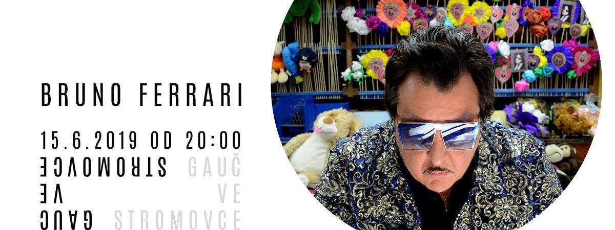 Bruno Ferrari s vámi bude v sobotním večeru sdílet Gauč ve Stromovce
