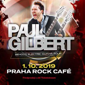 Paul Gilbert po 11 letech opět v Praze