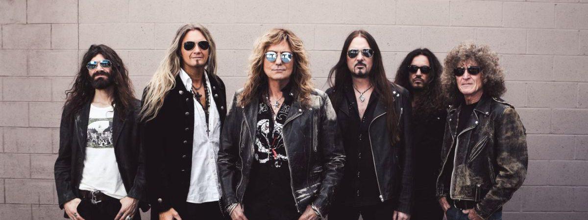 Whitesnake u nás oslaví čtyřicet let ještě jednou, příští rok zahrají v Brně s Europe