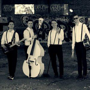 Sedlčanští The Beautifuls zvou na svém druhém EP za hranice rockabilly