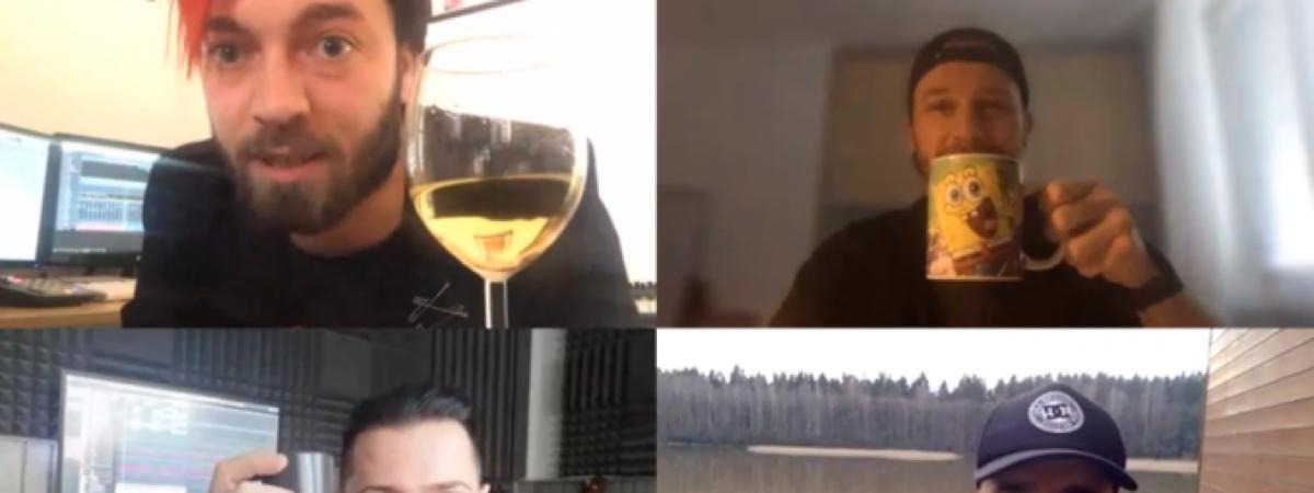 Už jste někdy viděli virtuální křest? Walkmanz pokřtil desku Jirka Mádl po Skypu