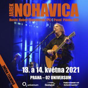 Koncerty Jarka Nohavici v O2 universu se znovu přesouvají